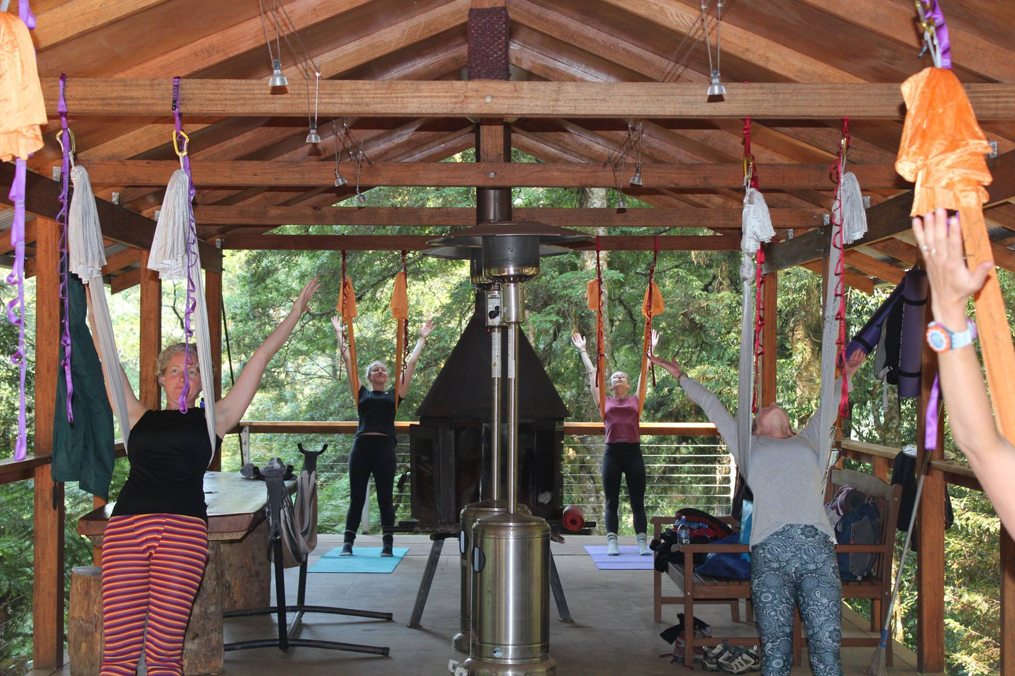 Yoga retreat tasmania - Tarkine Antigravity 1